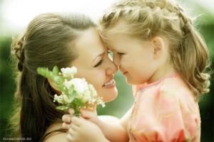день рождения моей мамочки, мама и дочь, слова любимой маме