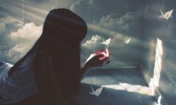 любящее сердце, мир иллюзий,трудно любить