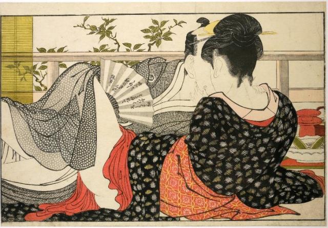 китайские эротические гравюры: